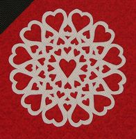 All my Heart block detail web