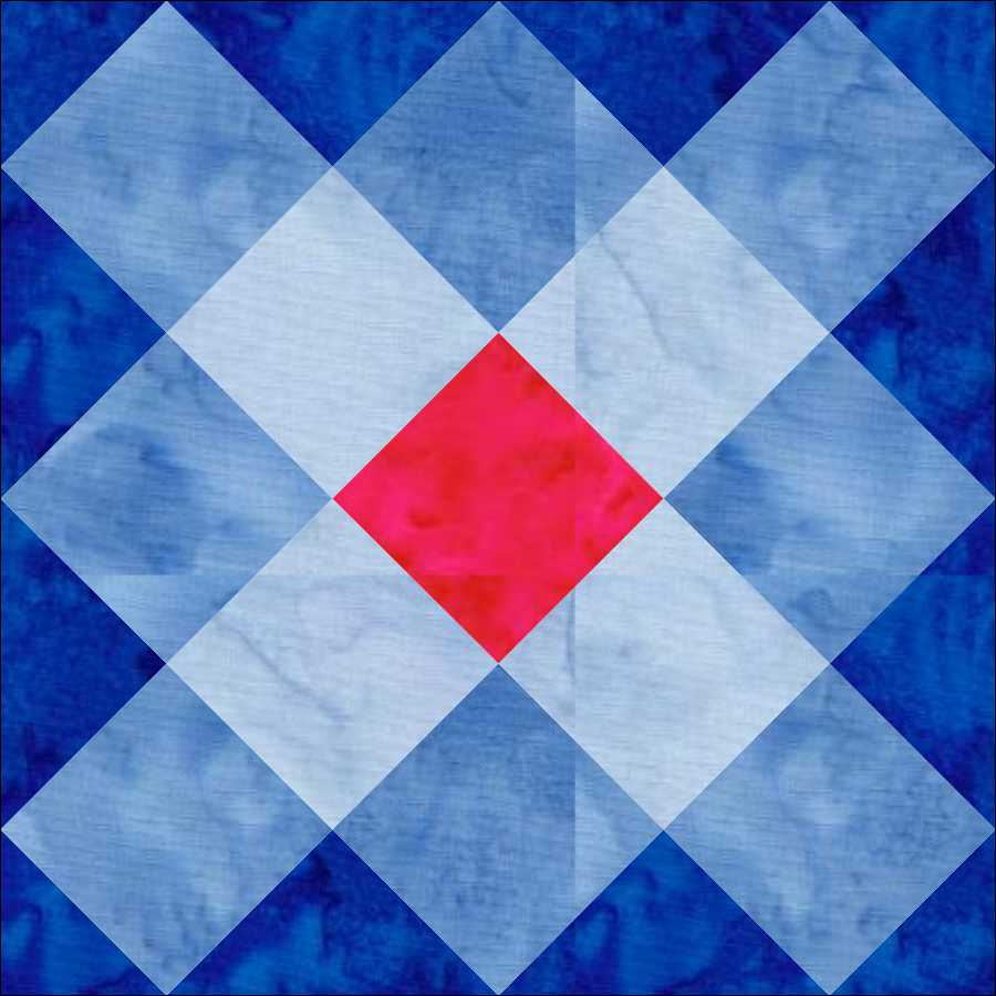 Geometric SHAPES in Quilts: Squares and Rectangles – Kathy