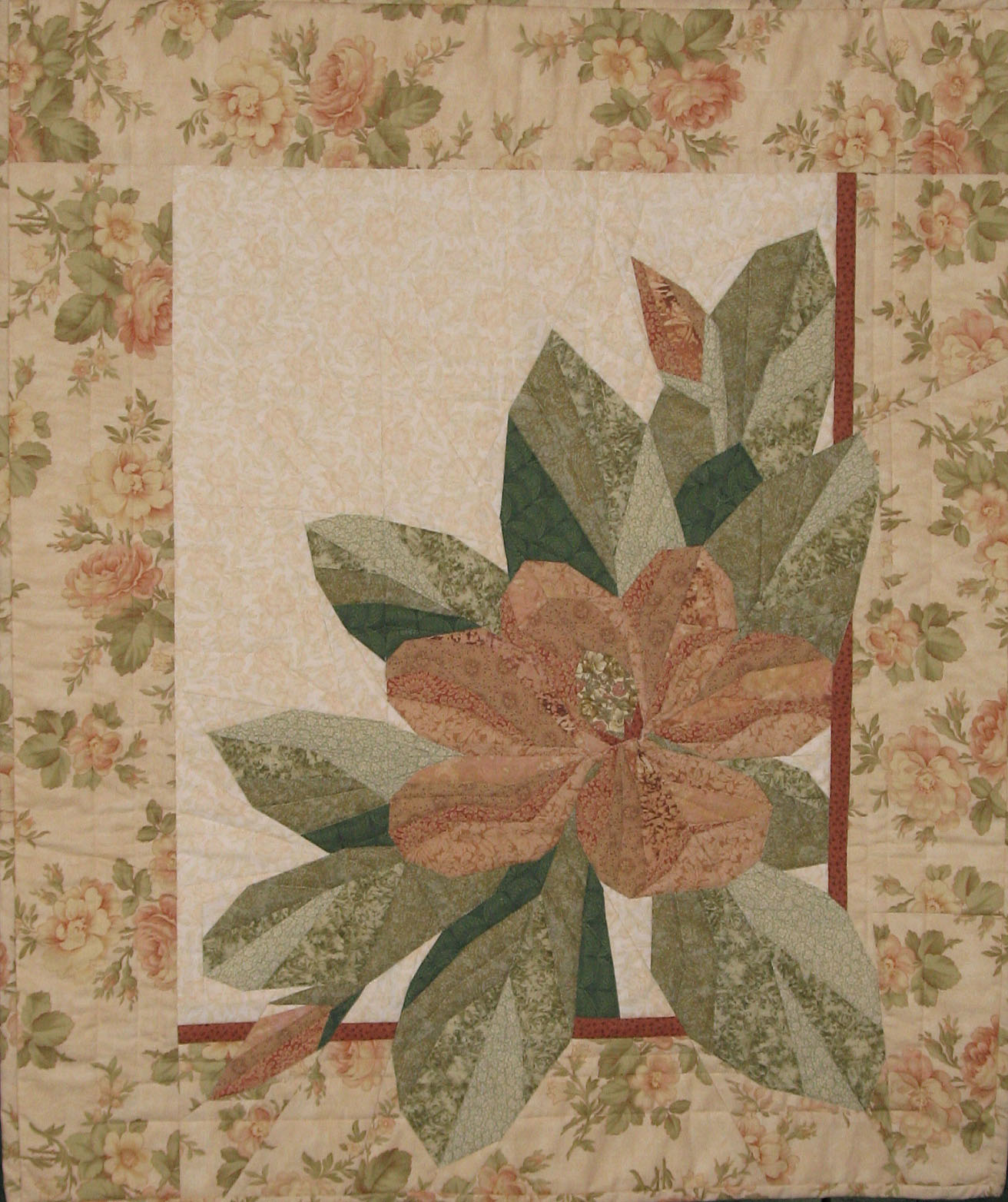 Kathy K. Wylie Quilts – Quilts in Memory of Nan : magnolia quilt - Adamdwight.com