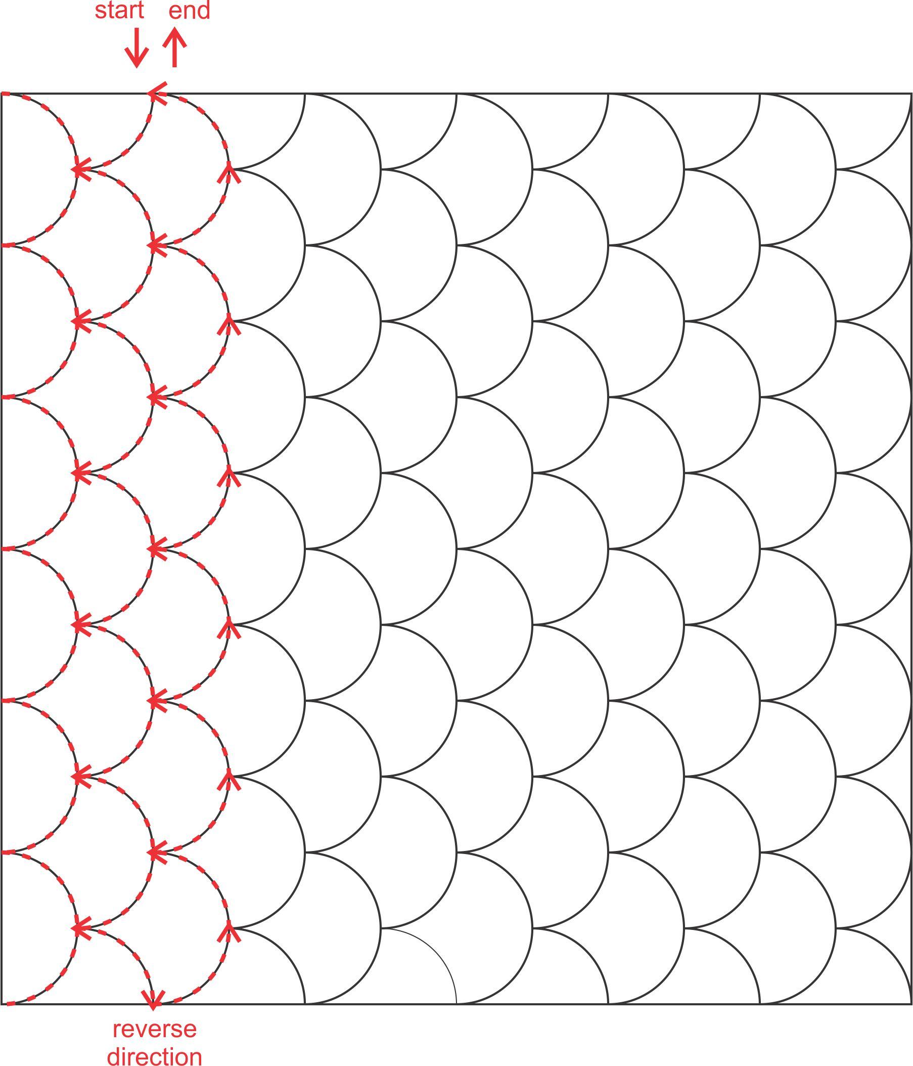 Machine Quilting Design Patterns