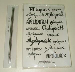 Apliquick Tools