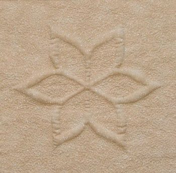 Cut Away Trapunto Snowflake Star